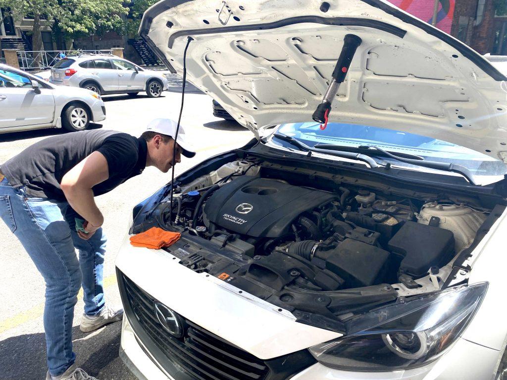 inspection automobile rendez vous